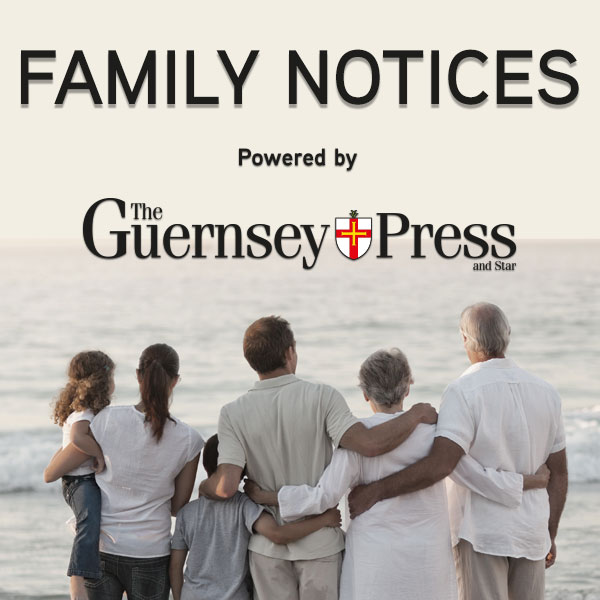 Family Notices from the Guernsey Press